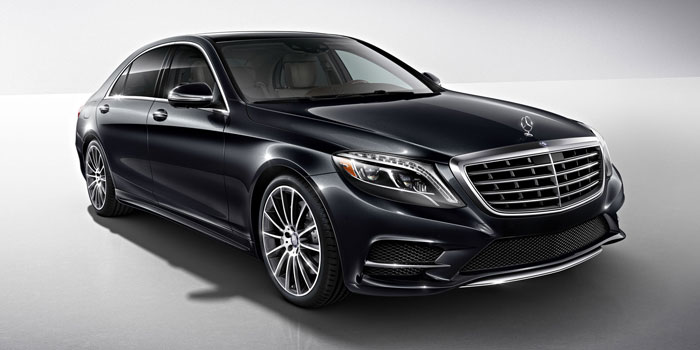 The New Mercedes S550 Sedan2